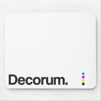 Decorum Mouse Pad