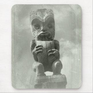 Découpage maori de la Nouvelle Zélande Tapis De Souris