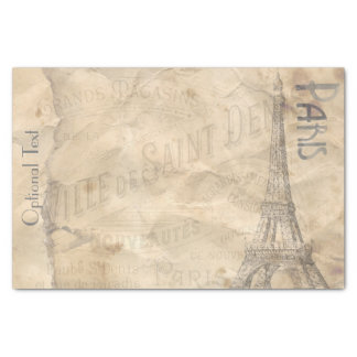 Decoupage Paper Paris Collage