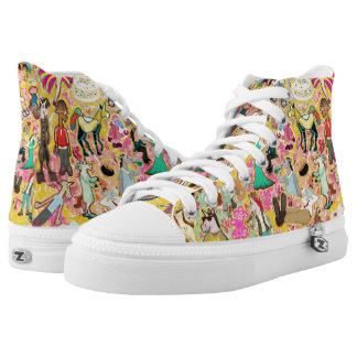 Decoupage Unicorn High Tops
