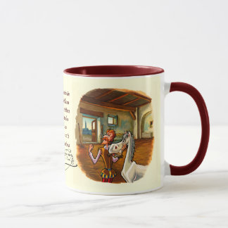 Dedicated to Rocinante, DON QUIXOTE's horse Mug