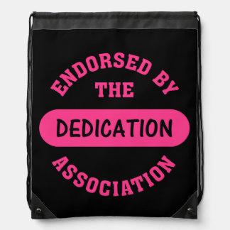 Dedication Association Endorsement Backpacks