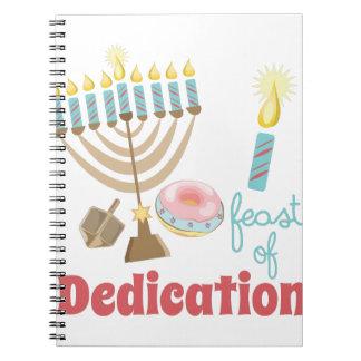 Dedication Feast Note Books