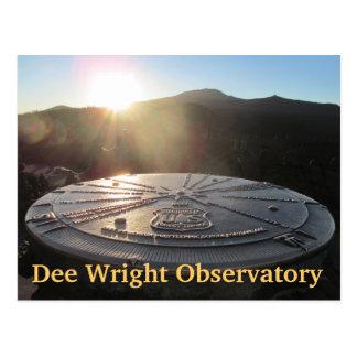 Dee Wright Observatory in the Willamette Wildernes Postcard