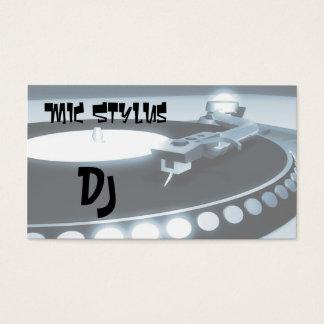 Deejay Business Card