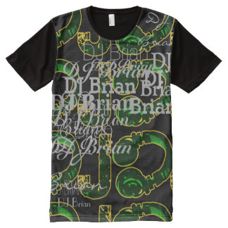 deejay dj cool and personalizable All-Over-Print T-Shirt