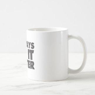 Deejays Do it Better white Mug