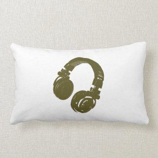 deejays headphone lumbar pillow
