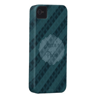 Deep Aqua Navy Blue Attractive Classy Custom Cases