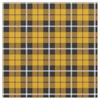 Deep Autumn Gold yellow white/black stripe Fabric
