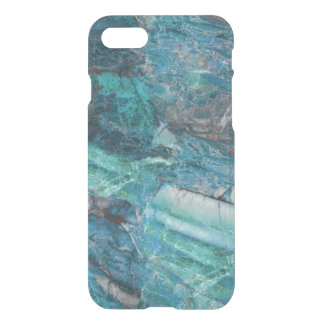 Deep Blue Abstract Marble Pattern iPhone 8/7 Case