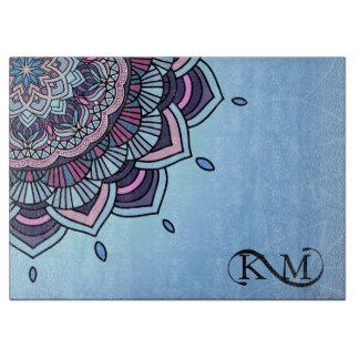 Deep Blue Glow Mandala ID361 Boards