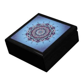 Deep Blue Glow Mandala ID361 Gift Box