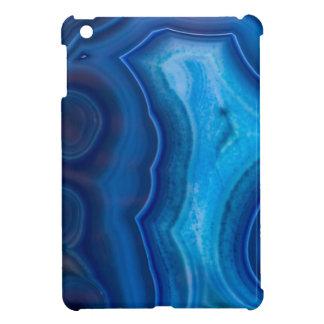 Deep Blue Lagoon Agate iPad Mini Case