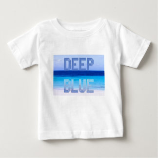 Deep Blue logo backdrop Baby T-Shirt