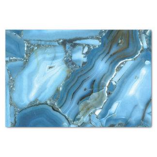 Deep Blue Marble Tissue Paper