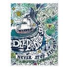 Deep Blue Sea |Never Stop Exploring Postcard