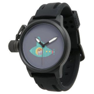 Deep blue sea watch