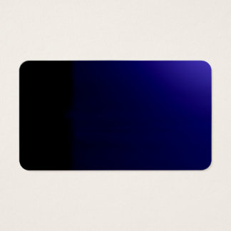 Deep Blue Unusual Visual Identifiers Biz Card