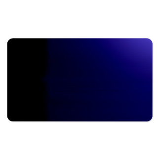 Deep Blue Unusual Visual Identifiers Biz Card Business Card