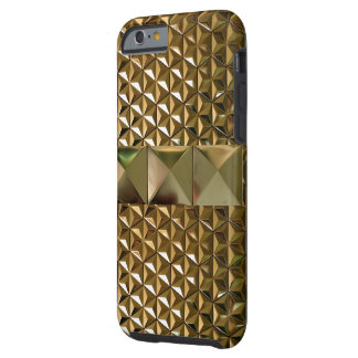 Deep Bold Gold Pattern IPhone 6 Case