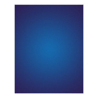 Deep Dark Blue Grainy Vignette Personalized Flyer