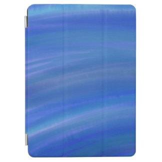 "Deep dark blue ocean water color Apple 9.7"" iPad"
