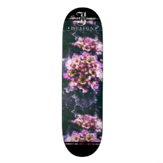 Deep Floral Skate Board