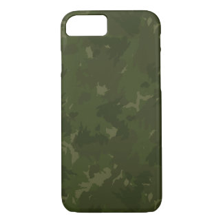 Deep Forest Camouflage iPhone 7 Case