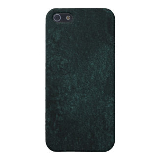 Deep Green Velvet iPhone 5/5S Cases