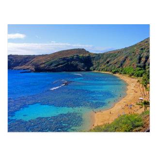 Deep Hanauma Bay 3, Honolulu, Oahu, Hawaii Inland Postcard