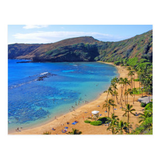 Deep Hanauma Bay, Honolulu, Oahu Postcard