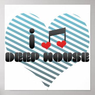 Deep House fan Poster