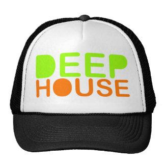 deep house music dj style trucker baseball cap trucker hat