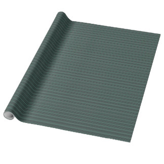 Deep Hunter Green Wrapping Paper