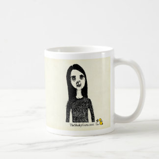 Deep in a forest sits a cabin surrounded by ..... coffee mug