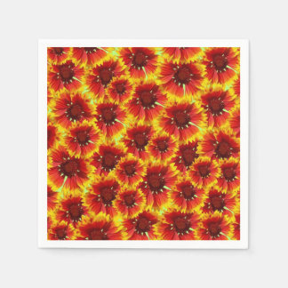 Deep In Marigolds DOD Party Paper Napkins