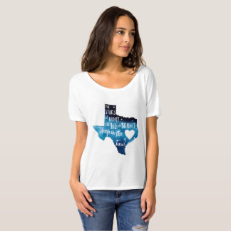 deep in The Heart of TX Harvey T-shirt