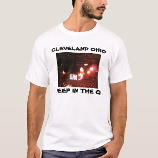 DEEP IN THE Q,CLEVELAND,OHIO tee