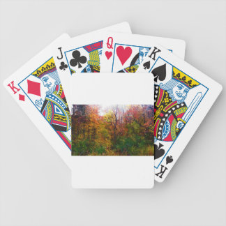 Deep In The Woods Bicycle Playing Cards