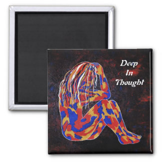 Deep In Thought Magnet