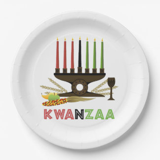 Deep In Tradition Kwanzaa Party Paper Plates