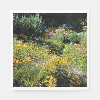 Deep Into September's Gardens! Napkin
