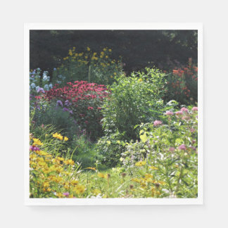 Deep Into September's Gardens! Paper Napkin
