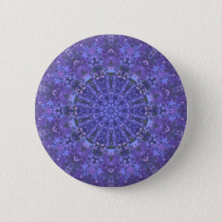 Deep into the sea: Mandala/ fractals 2 Inch Round Button