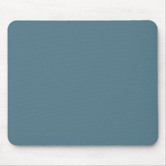 Deep Ocean Blue Solid Color Mouse Pad