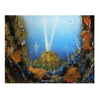 Deep Ocean Signal Postcard