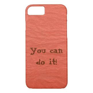 Deep Orange Paper Phone Case -- Customizable