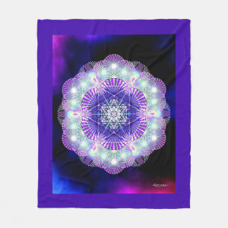 Deep Peace Fleece Blanket
