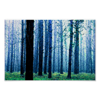 Deep Piney Woods Poster